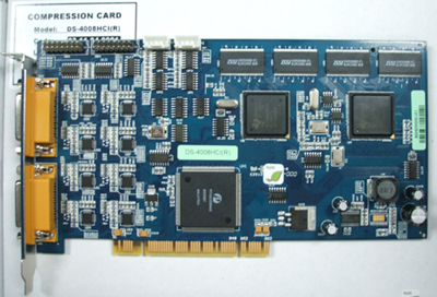 Hikvision matériel de compression DVR Card: DS-4008HCI