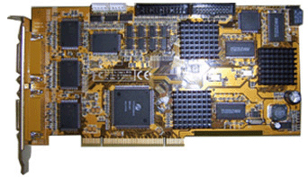 16ch Hikvision Hardware Compression DVR Card: DS-4016HSI