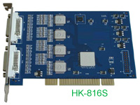 software compression DVR card: hk-816s