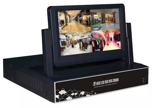 LCD NVR/DVR With Built-in LCD Monitor