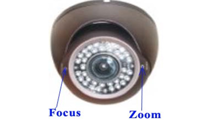 30 meters ir dome cameras