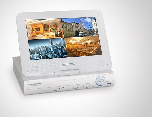 10.1inch AHD/NVR/DVR With Built-in LCD Monitor: HK-S1004M, HK-S1008M