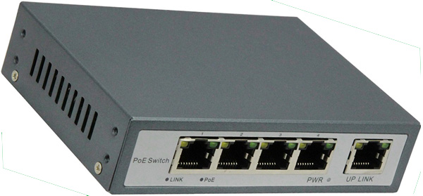 5-PORT 10/100 SWITCH WITH 4-PORT POE: POE3104P